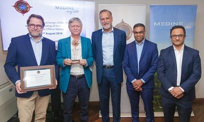 The Stock Exchange of Mauritius welcomes the listing of Medine Limited on the Official Market